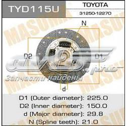 диск сцепления  TYD115U