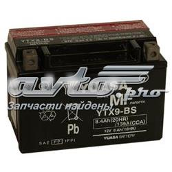 аккумуляторная батарея (акб)  YTX9BS