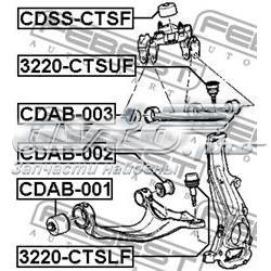 Шаровая опора верхняя FEBEST 3220CTSUF
