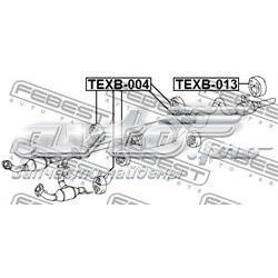 подушка крепления глушителя  texb004