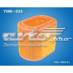 фільтр повітряний  YUMI033