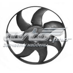 електровентилятор охолодження в зборі (двигун + крильчатка)  V15011859