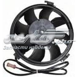 електровентилятор охолодження в зборі (двигун + крильчатка)  STVWA62010