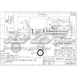 амортизатор задний правый  ST4853020700