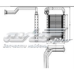 радиатор печки (отопителя)  STHNS13950