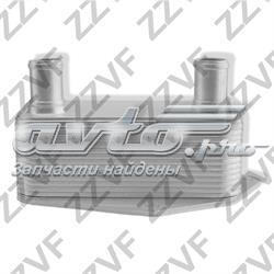 радиатор масляный (холодильник), под фильтром  ZVM070
