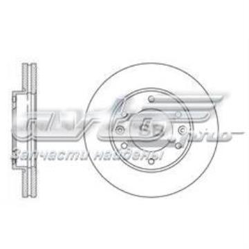 SD1031 Sangsin диск тормозной передний (Вентилируемый)