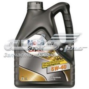 152566 Mobil масло моторное синтетическое Super 3000 X1 5W-40, 4л