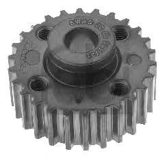 Фото: Звездочка-шестерня привода коленвала двигателя Audi 80