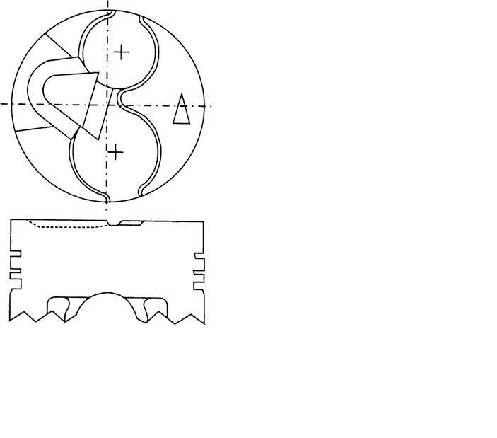 поршень в комплекте на 1 цилиндр, 2-й ремонт (+0,50)  PN32041