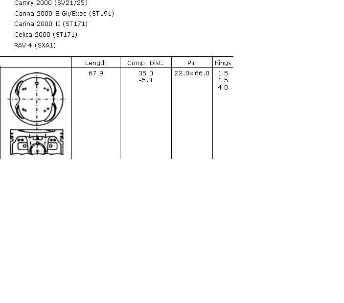 поршень в комплекте на 1 цилиндр, 4-й ремонт (+1,00)  PN34322