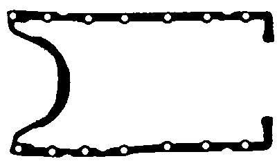 прокладка піддона ford escort 1.8 td