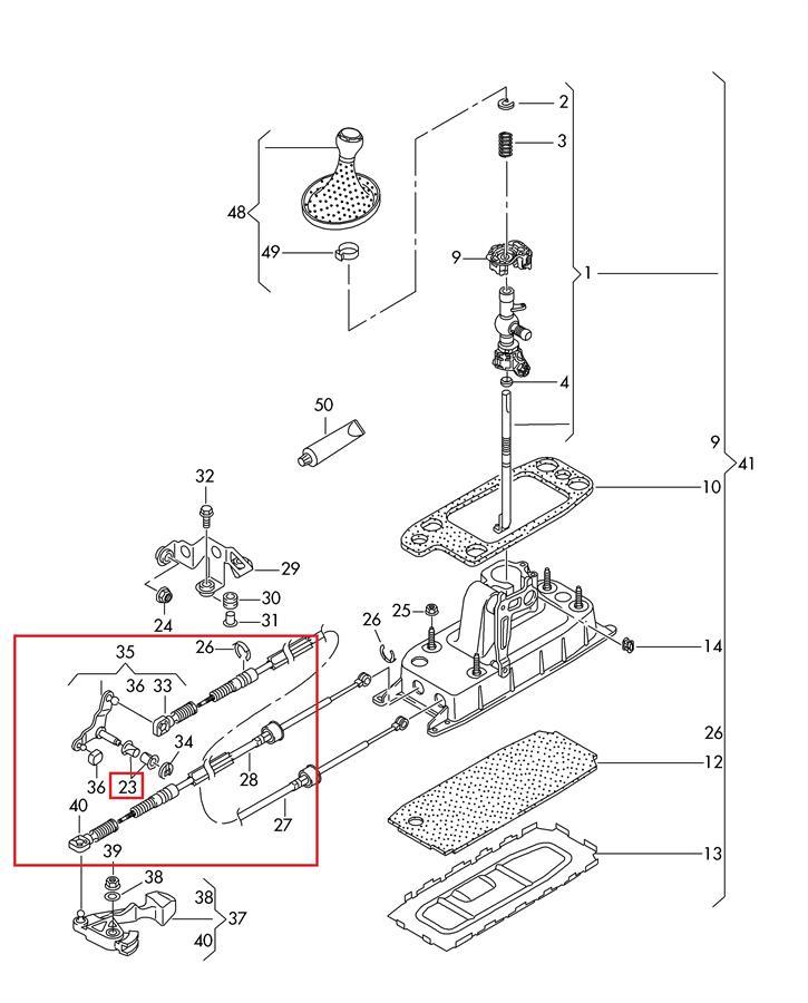 механизм переключения передач skoda felicia