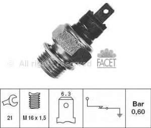 Фото: Датчик тиску масла Citroen BX