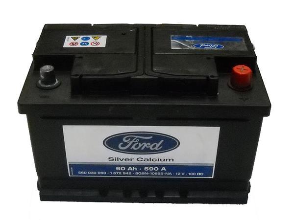 1 672 942 аккумулятор ford