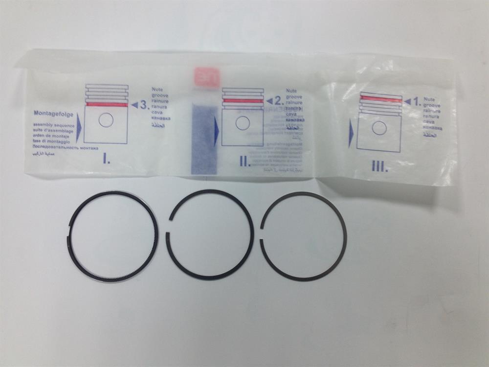 кольца поршневые комплект на мотор, 2-й ремонт (+0,65)  800009940066