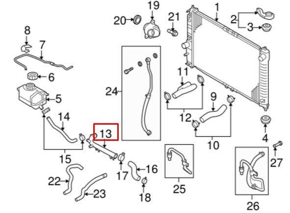 Патрубок на схеме показать 472