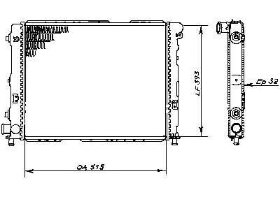 система охлаждения двигателя фиат крома 8144.91