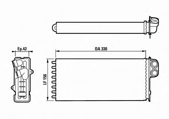 Радиатор теплообменника рено премиум Пластинчатое теплообменное устройство ТИ 27 Дербент