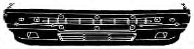 Фото: Бампер передний Lancia Prisma