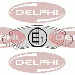 Фото: Колодки гальмівні передні, дискові Chevrolet Cruze