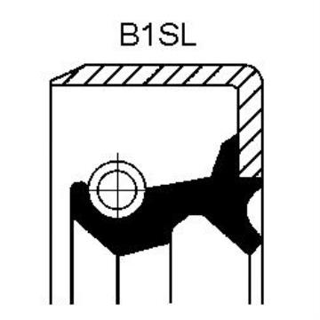 19033924B Corteco сальник передней ступицы внутренний