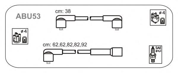 Фото: Провода высоковольтные, комплект Audi 90
