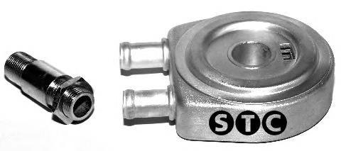 радиатор масляный (холодильник), под фильтром  T405943