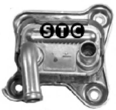 радиатор масляный (холодильник), под фильтром  T405912