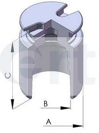 Фото: Поршень суппорта тормозного заднего Citroen C4