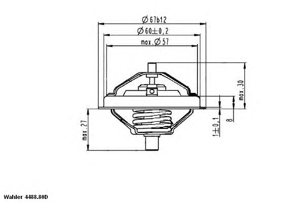 Термостат на Фольксваген Битл 9C ⚙️ - Покупка запчастей и сравнение цен на Avto.pro