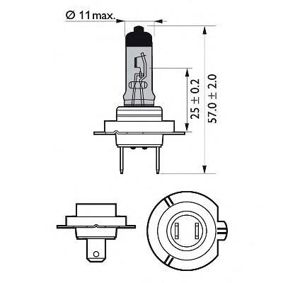 Фото: Лампа-фара, ліва = правая Citroen C4