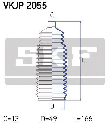 пыльник рулевого механизма (рейки)  VKJP2055