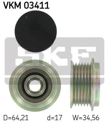 шкив генератора  VKM03411