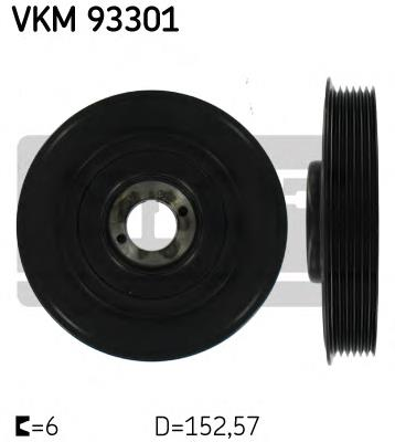 шкив коленвала  VKM93301