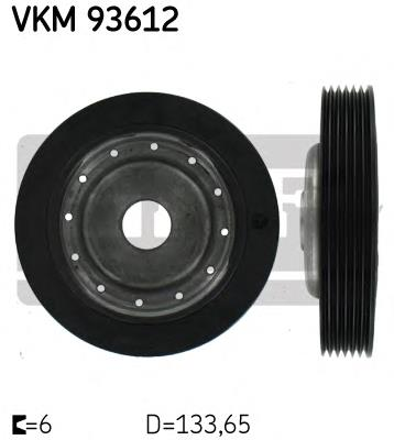 шкив коленвала  VKM93612