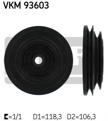 шкив коленвала  VKM93603