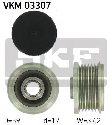 шкив генератора  VKM03307