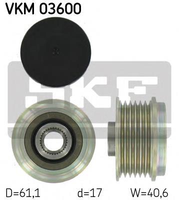 шкив генератора  VKM03600