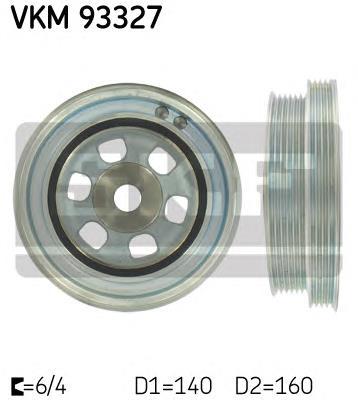 шків колінвала  VKM93327