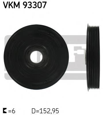 шкив коленвала  VKM93307