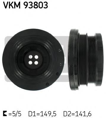 шкив коленвала  VKM93803