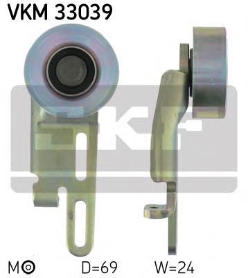 ролик натягувача приводного ременя  VKM33039
