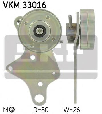 ролик натягувача приводного ременя  VKM33016