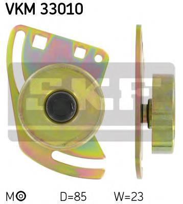 ролик натяжителя приводного ремня  VKM33010