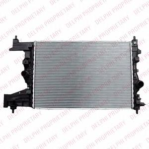 радиатор интеркуллера  TSP0524045