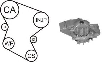 ремень грм, комплект  WPK158002