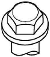 Фото: Болт головки блоку циліндрів, ГБЦ Daewoo Matiz