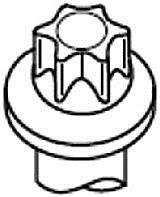 Фото: Болт головки блоку циліндрів, ГБЦ Chevrolet Aveo