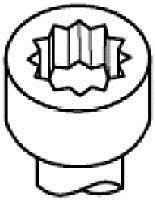 Фото: Болт головки блока цилиндров, ГБЦ Chrysler Voyager